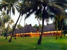 Un des hôtels du séjour dans les Backwaters