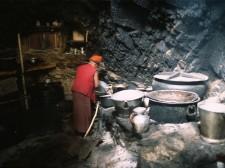La cuisine du monastère de Phuktal