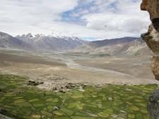 Cultures dans la vallée du Zanskar