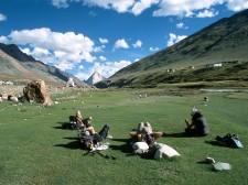 Pause au village de Kargyak
