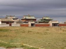 Monastère Erdene Zuu dans l'ancienne capitale Karakorum