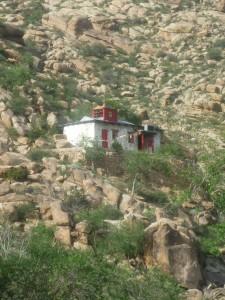 Monastère au pied de la Montagne de Khogno Khan
