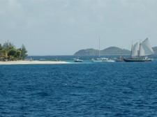 Île de Mayreau dans les Grenadines