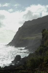 La côte abrupte au sud-est