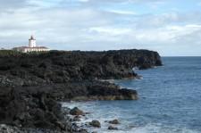 Le phare de la pointe est de l'île