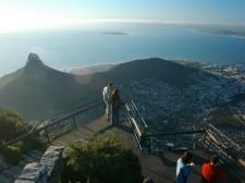 Vue depuis Table Mountain, la montagne qui domine la ville du Cap