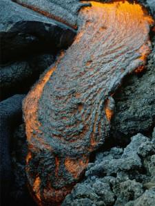 Coulée de lave