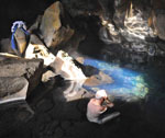 Bain d'eau chaude naturel en Islande
