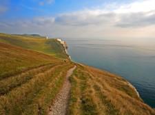 Sentier le long de la côte jurassique - Dorset