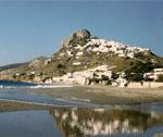 Bord de mer de l'île de Skyros