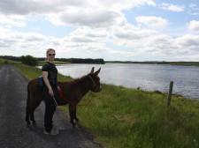 Halte au bord du Lough Attorick