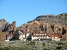 L'hôtel Parador de la caldeira du volcan Teide
