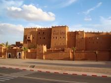 La kasbah de Taourirt à Ouarzazate