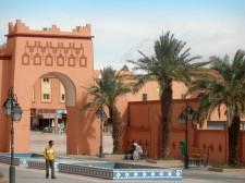 Une place de Ouarzazate
