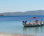 Île de Skyros - plage du sud