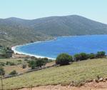 ìle de Skyros - une plage du sud