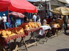 Le bazar de Bishkek