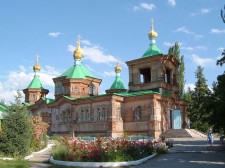 La cathédrale de Karakol