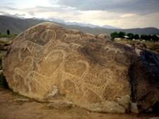 Pétroglyphes de Cholpton Ata
