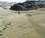 Randonnée dans le désert du Maroc