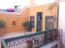 Chambre du riad avec vue sur les toits de Marrakech