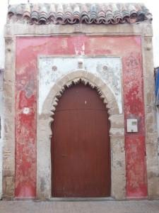 Porte dans la médina d'Essaouira