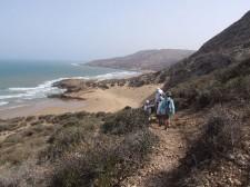 Trek en famille sur la côte atlantique du Maroc