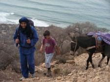 Trek sur la côte atlantique du Maroc