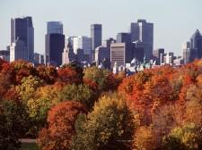 Vue sur la ville moderne de Montréal