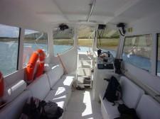 Bateau pour la navigation sur le bras sud du lac Argentino et sur le lac Roca (Argentine)