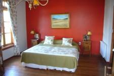Une chambre à l'estancia Nibepo Aike (Argentine)