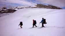 Traversée par l'El Cordon de Guamparo à 2000 m d'altitude (Chili)