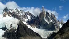 Le massif du Fitz Roy vu d'un autre côté (Argentine)