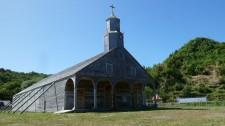 Un autre exemple d'église de l'île de Chiloé (Chili)