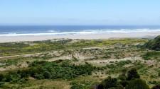 Plage sur l'océan pacifique de l'île de Chiloé (Chili)
