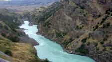 Le rio Baker (Chili)
