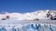 La surface accidentée du glacier Perito Moreno (Argentine)