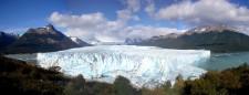 Vue du glacier Perito Moreno depuis le front (Argentine)