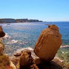 La baie de Bonifacio