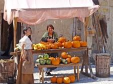 Le marché de Pedraza, célèbre depuis le Moyen-Âge