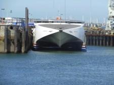 Guernesey – Un ferry desservant les îles