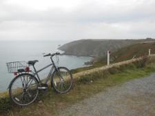 Guernesey – Le long de la côte à vélo