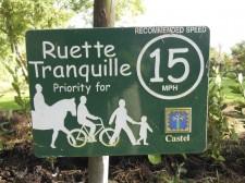 "Guernesey – Une ""Ruette Tranquille"", petite route de balade"