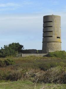 Guernesey – Une tour fortifiée allemande