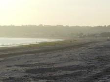 Jersey – Plage à marée basse, propice à la balade