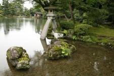 Le jardin Kenroku-en à Kanazawa