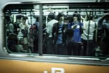 Un métro pas trop bondé !