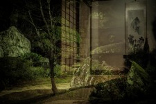 Le jardin d'une maison de samouraï