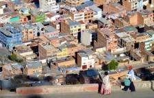 Vue plongeante sur El Alto