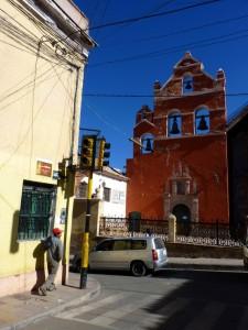 Extension Villes coloniales– Les églises aussi peuvent être de couleur à Potosi
